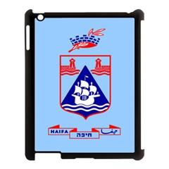 Flag Of Haifa Apple Ipad 3/4 Case (black) by abbeyz71