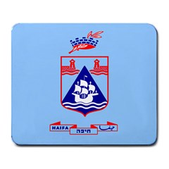 Flag Of Haifa Large Mousepads by abbeyz71