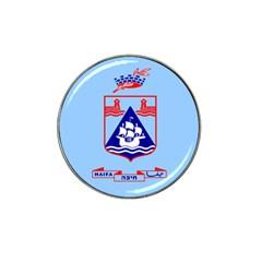 Flag Of Haifa Hat Clip Ball Marker (4 Pack) by abbeyz71