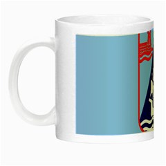 Flag Of Haifa Night Luminous Mugs by abbeyz71
