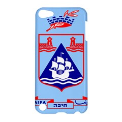 Flag Of Haifa Apple Ipod Touch 5 Hardshell Case by abbeyz71