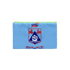 Flag Of Haifa Cosmetic Bag (xs) by abbeyz71