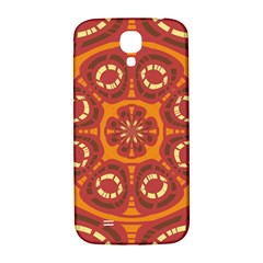 Dark Red Abstract Samsung Galaxy S4 I9500/i9505  Hardshell Back Case by linceazul