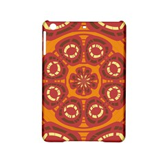 Dark Red Abstract Ipad Mini 2 Hardshell Cases by linceazul