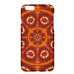 Dark Red Abstract Apple Iphone 6 Plus/6s Plus Hardshell Case by linceazul