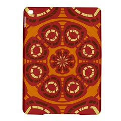 Dark Red Abstract Ipad Air 2 Hardshell Cases by linceazul