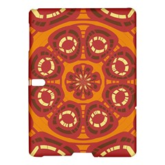 Dark Red Abstract Samsung Galaxy Tab S (10 5 ) Hardshell Case  by linceazul