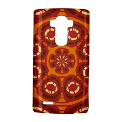 Dark Red Abstract Lg G4 Hardshell Case by linceazul