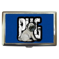 Pug Cigarette Money Cases by Valentinaart