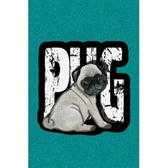 Pug 5.5  x 8.5  Notebooks by Valentinaart