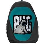 Pug Backpack Bag Front