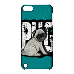 Pug Apple Ipod Touch 5 Hardshell Case With Stand by Valentinaart