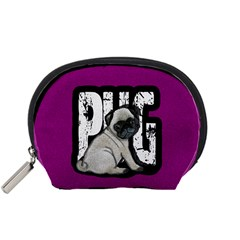 Pug Accessory Pouches (small)  by Valentinaart