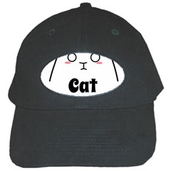 Love My Cat Mommy Black Cap by Catifornia