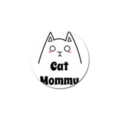 Love My Cat Mommy Golf Ball Marker (4 Pack) by Catifornia