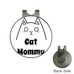 Love My Cat Mommy Hat Clips With Golf Markers by Catifornia