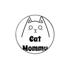 Love My Cat Mommy Hat Clip Ball Marker (4 Pack) by Catifornia