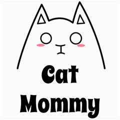 Love My Cat Mommy Canvas 16  X 16   by Catifornia