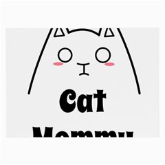 Love My Cat Mommy Large Glasses Cloth by Catifornia