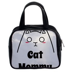 Love My Cat Mommy Classic Handbags (2 Sides) by Catifornia