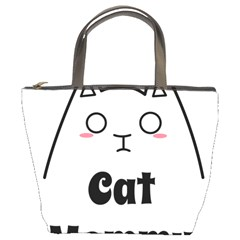 Love My Cat Mommy Bucket Bags by Catifornia