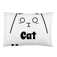 Love My Cat Mommy Pillow Case by Catifornia