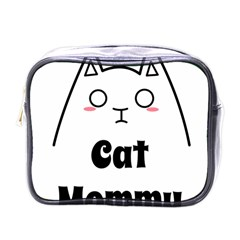 Love My Cat Mommy Mini Toiletries Bags by Catifornia