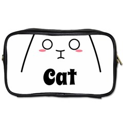 Love My Cat Mommy Toiletries Bags 2 Side by Catifornia