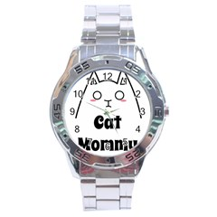 Love My Cat Mommy Stainless Steel Analogue Watch by Catifornia