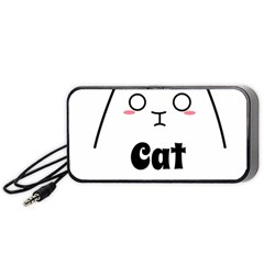 Love My Cat Mommy Portable Speaker (black) by Catifornia
