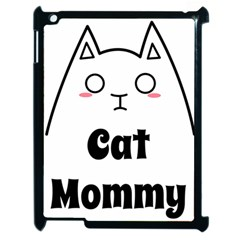 Love My Cat Mommy Apple Ipad 2 Case (black) by Catifornia