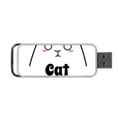 Love My Cat Mommy Portable Usb Flash (two Sides) by Catifornia