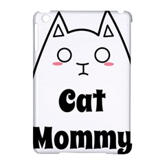 Love My Cat Mommy Apple Ipad Mini Hardshell Case (compatible With Smart Cover) by Catifornia