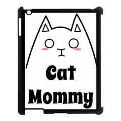 Love My Cat Mommy Apple Ipad 3/4 Case (black) by Catifornia