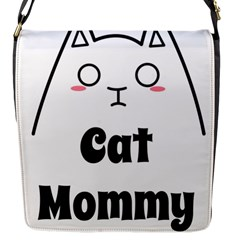 Love My Cat Mommy Flap Messenger Bag (s) by Catifornia