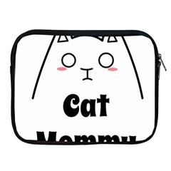 Love My Cat Mommy Apple Ipad 2/3/4 Zipper Cases by Catifornia