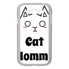 Love My Cat Mommy Samsung Galaxy Grand Duos I9082 Case (white) by Catifornia
