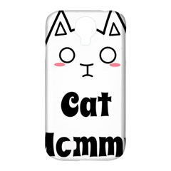 Love My Cat Mommy Samsung Galaxy S4 Classic Hardshell Case (pc+silicone) by Catifornia