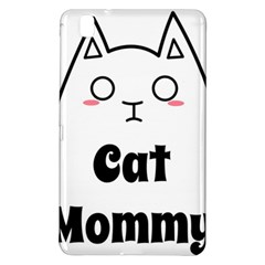 Love My Cat Mommy Samsung Galaxy Tab Pro 8 4 Hardshell Case by Catifornia