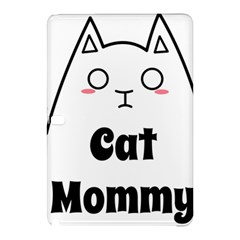 Love My Cat Mommy Samsung Galaxy Tab Pro 12 2 Hardshell Case by Catifornia