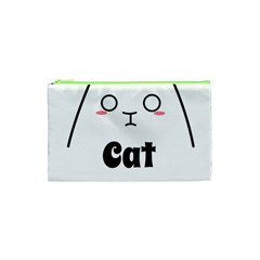 Love My Cat Mommy Cosmetic Bag (xs) by Catifornia