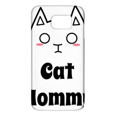 Love My Cat Mommy Galaxy S6 by Catifornia