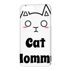 Love My Cat Mommy Apple Iphone 7 Plus Hardshell Case by Catifornia