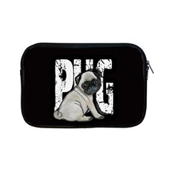 Pug Apple Ipad Mini Zipper Cases by Valentinaart