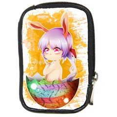 Easter Bunny Girl Compact Camera Cases by Catifornia