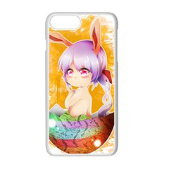 Easter Bunny Girl Apple Iphone 7 Plus White Seamless Case by Catifornia