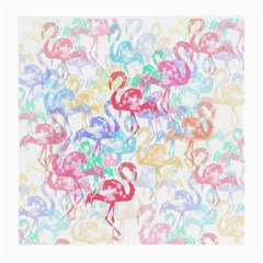 Flamingo Pattern Medium Glasses Cloth by Valentinaart