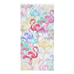 Flamingo Pattern Shower Curtain 36  X 72  (stall)  by Valentinaart