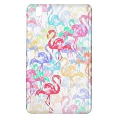 Flamingo Pattern Samsung Galaxy Tab Pro 8 4 Hardshell Case by Valentinaart