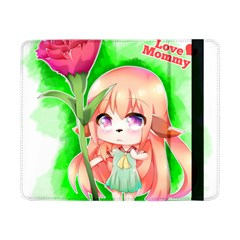 Happy Mother s Day Furry Girl Samsung Galaxy Tab Pro 8 4  Flip Case by Catifornia